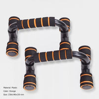 1 Pair Push Up Bar Stand Pushup Board Exercise Training Chest Bar Sponge Hand Grip Trainer Body Building Fitness Equipments