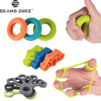 1PC Finger Hand Grip 3kg-5kg Silicone Strength Trainer Ring Gripper Expander Finger Workout Fitness Training Power Hand Grips