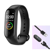 M4 Smart Watch bluetooth 4.0 Sport Bracelet Wristband iOS Android Fitness Tracker Smartwatch Women Blood Pressure Pedometer
