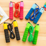 Counting Jump Ropes Sports Fitness Skipping Wire Adjustable Jump Rope Fast Speed Count Jump Ropes