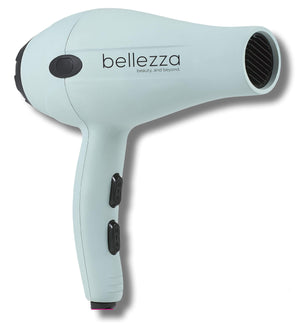 Bellezza Blowout Kit | 1875W Lightweight Blow Dryer, Paddle Brush, &