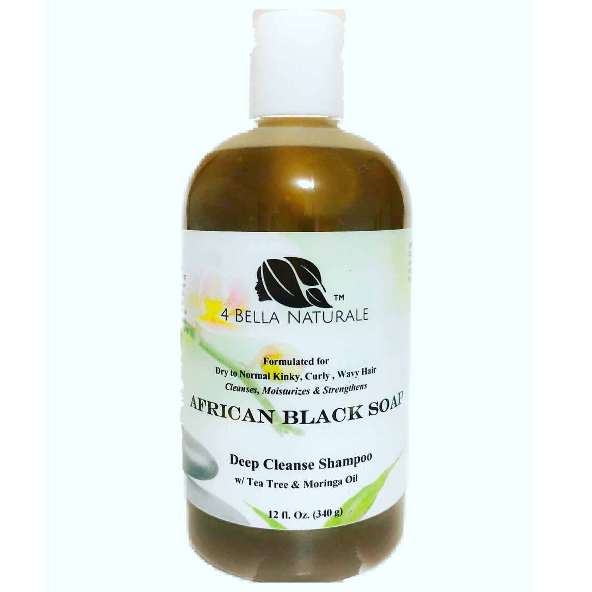 African Black Soap Deep Cleanse Shampoo