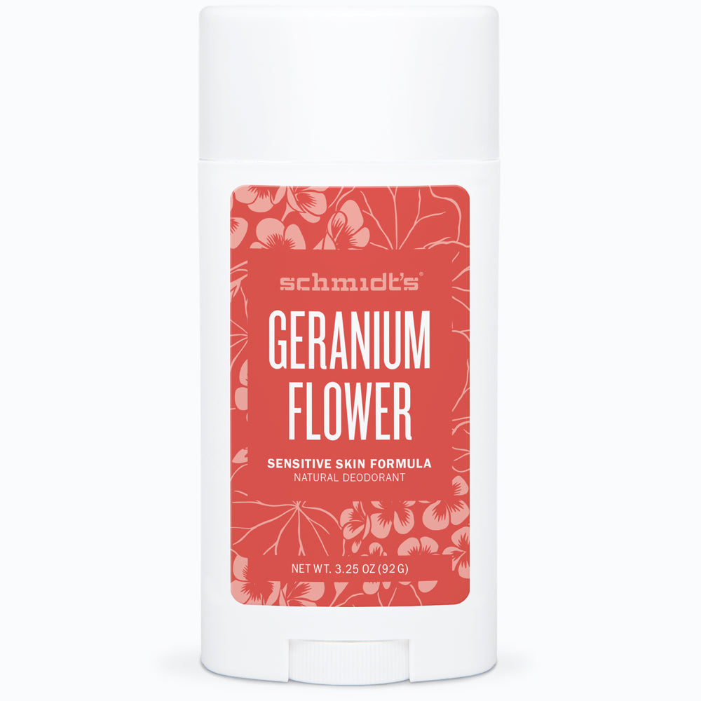 Geranium Flower Sensitive Skin Deodorant Stick