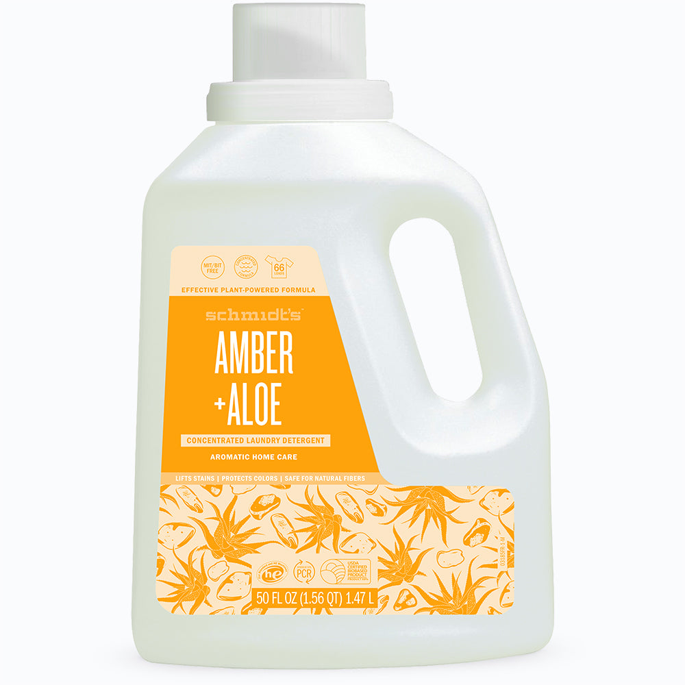 Amber + Aloe Concentrated Laundry Detergent