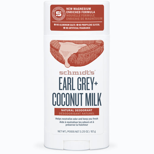 Earl Grey + Coconut Milk Deodorant Stick