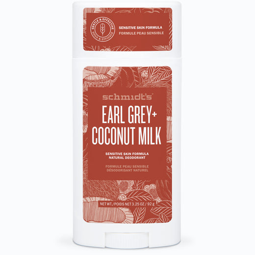 Earl Grey + Coconut Milk Sensitive Skin Deodorant Stick