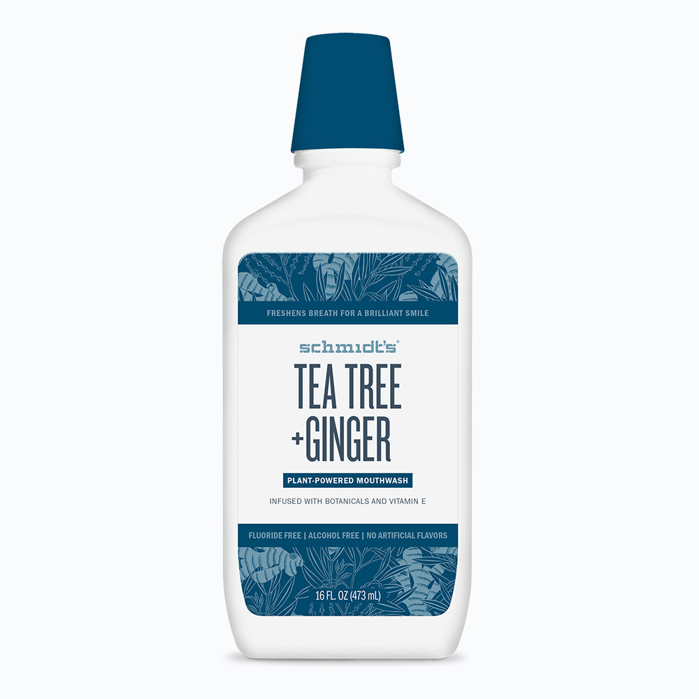 Tea Tree + Ginger Mouthwash