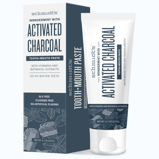 Activated Charcoal with Wondermint® Tooth+Mouth Paste
