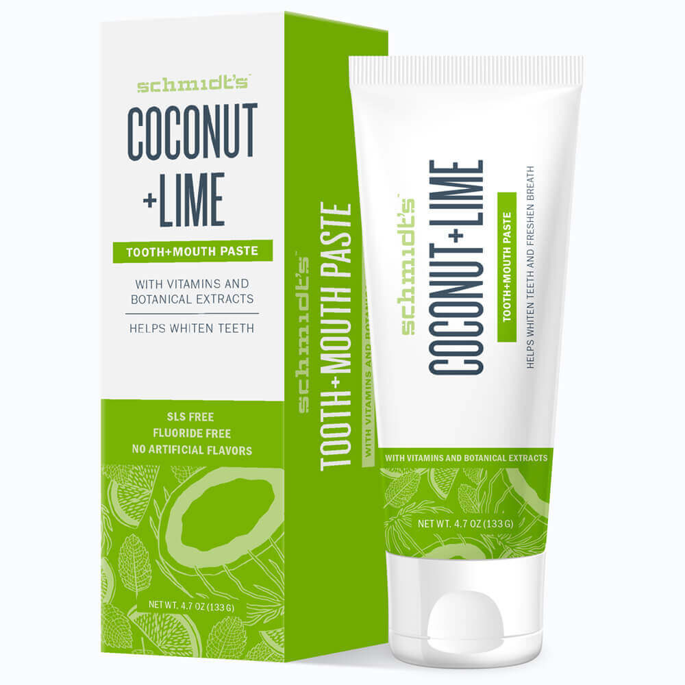 Coconut + Lime Tooth+Mouth Paste