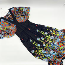 Load image into Gallery viewer, Drop Shoulder Floral Day Dress