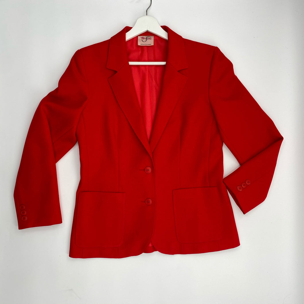 Tan Jay Red Blazer