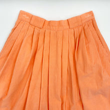 Load image into Gallery viewer, Kari Peach Corduroy Skirt