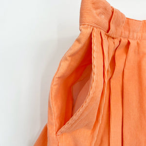 Kari Peach Corduroy Skirt