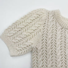 Load image into Gallery viewer, Hand Knit White Sweater