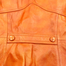 Load image into Gallery viewer, Caramel Leather Trench