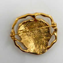Load image into Gallery viewer, Flower Brass Brooch