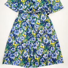 Load image into Gallery viewer, Indigo Floral Dress