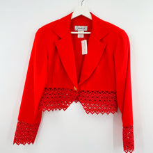 Load image into Gallery viewer, Jackie K Lace Blazer