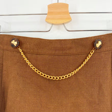 Load image into Gallery viewer, Vintage Gold Chain Skirt
