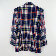 Load image into Gallery viewer, Liz Claiborne Primary Plaid Blazer
