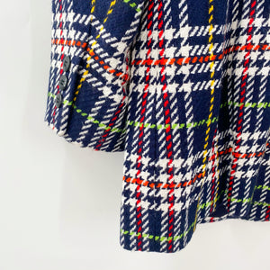 Liz Claiborne Primary Plaid Blazer