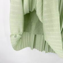 Load image into Gallery viewer, Mint Shimmer Pleated Skirt
