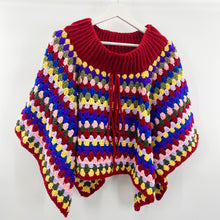 Load image into Gallery viewer, Crochet Poncho