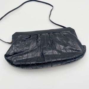 Black Eel Skin Purse