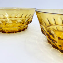 Load image into Gallery viewer, Amber Glass Bowl