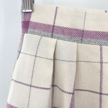 Load image into Gallery viewer, Plum Tree Plaid Skirt