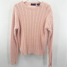 Load image into Gallery viewer, Ports Pink Cable Knit