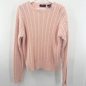 Ports Pink Cable Knit