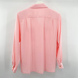 Hex Button Blouse