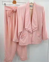 Load image into Gallery viewer, Crocket Pink Pant Suit