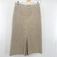 Load image into Gallery viewer, Oatmeal Tweed Skirt