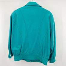Load image into Gallery viewer, Turquoise Leather Jacket