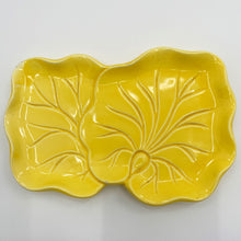 Load image into Gallery viewer, Yellow Leaf Dish