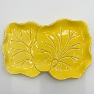 Yellow Leaf Dish