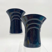 Load image into Gallery viewer, Black Deco Vase
