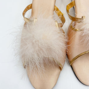 Peach Puff Slipper