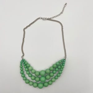 Mint Beaded Necklace