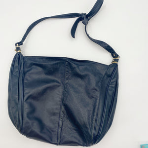 Navy Slouch Bag