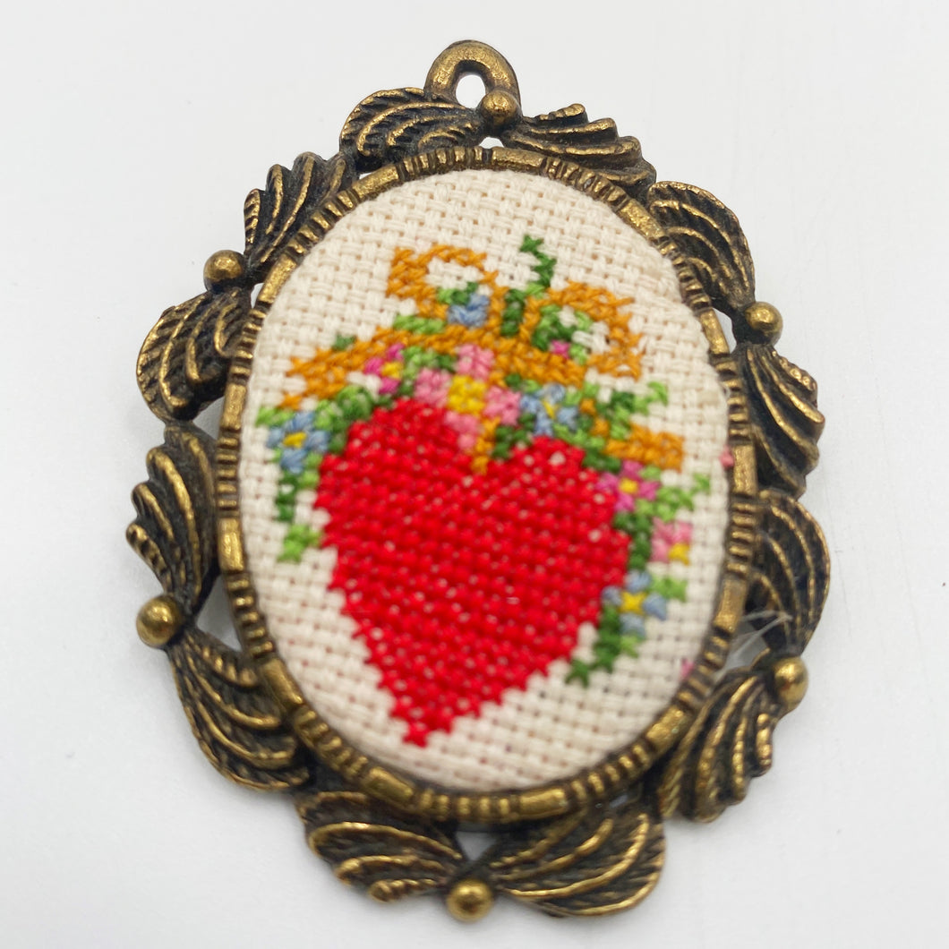 Cross-stitch Pin