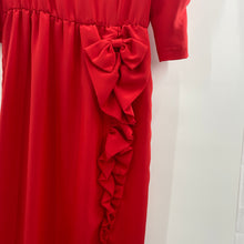 Load image into Gallery viewer, Red Ruffle Dress