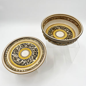 Pottery Bowl & Plate