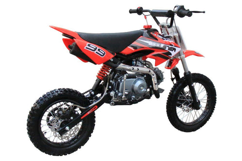 Coolster 214S - 125cc Semi-Automatic Mid Sized Dirt Bike Coolster