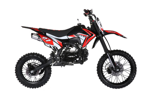 Coolster M-125 - 125CC Manual Clutch Mid Size Dirt Bike Coolster Black