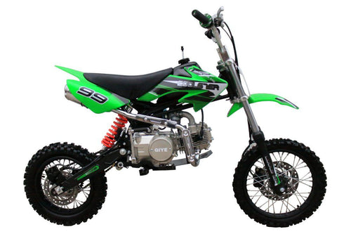 Coolster XR-125 - 125cc Semi-Automatic Mid Sized Dirt Bike Coolster