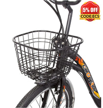 Load image into Gallery viewer, Ecotric Peacedove black electric city bike Ecotric