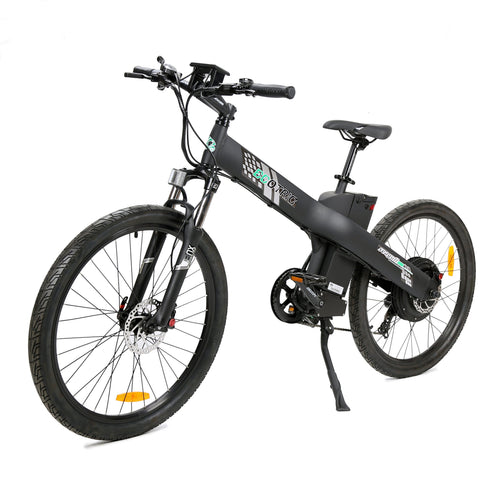 Ecotric Seagull Electric Mountain Bicycle - Matt Black Ecotric
